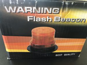 "Brand new 5-1/8"" warning flash beacon for Sale in West Valley City, UT"