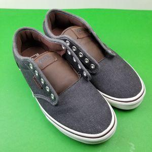 Vans UltraCush Mens 7.5 Black Grey and Brown Sneakers Skateboard Shoes 721356 for Sale in Hephzibah, GA
