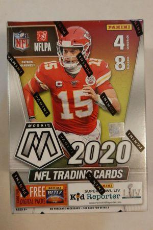 2020 Panini Mosaic NFL Football Blaster Box Factory Sealed for Sale in Pasadena, TX
