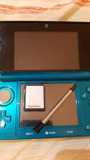 Nintendo 3DS (aqua blue) with 16gb sd card for Sale in Austin, TX
