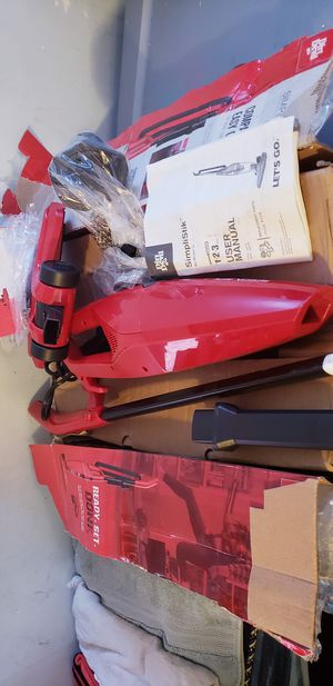 3in1 portable vacuum baggless rechargable for Sale in Los Angeles, CA