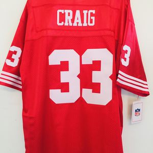 Brand New 49ers Roger Craig #33 Football Jersey for Sale in San Francisco, CA