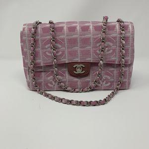 Chanel Pink Denim Bag for Sale in Las Vegas, NV