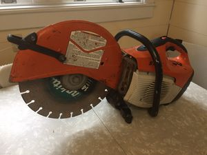 Stihl Wet Saw - Model TS420 for Sale in Reading, PA