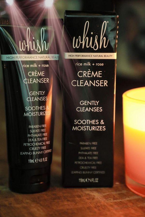 Gentle creme cleanser