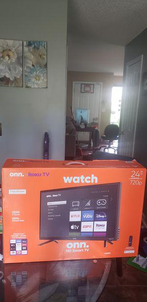 """24"""" HD smart TV for Sale in Union City, GA"""