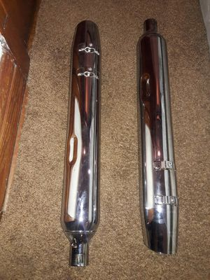 Harley Davidson exhaust.. model # 65592-07 screaming eagle for Sale in Chicago, IL
