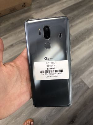 LG G7 ThinQ- Sprint- EXCELLENT CONDITION!!! for Sale in Las Vegas, NV