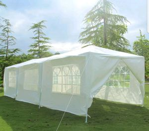 10x30 party tent gazebo canopy white for Sale in Chicago, IL