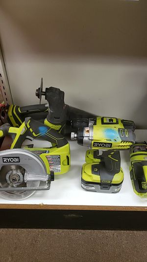 Ryobi 6 Tool 18 Volt Combo Kit Drill, Saw, Multi-tool for Sale in Newington, CT