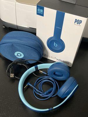 Beats wireless headphones POP collection blue for Sale in Homestead, FL