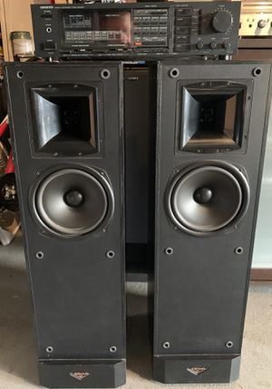 Klipsch KSF 8.5 speakers and Onkyo TX 37b receiver for Sale in Houston, TX