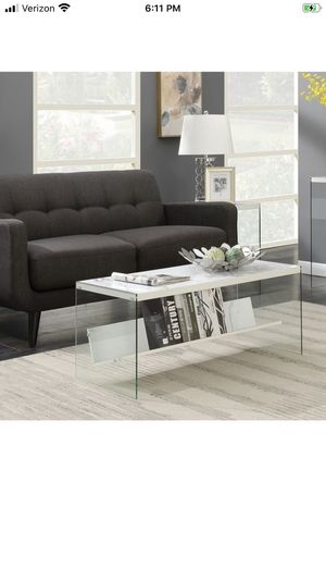Wood/glass coffee table for Sale in McLean, VA