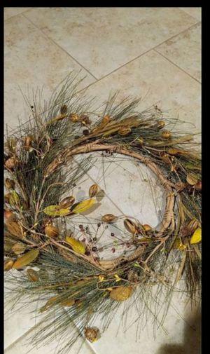 Beautiful Fall Wreath for Sale in Sun City, AZ