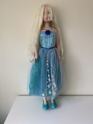 Elsa my size doll Toy Kids for Sale in Virginia Beach, VA