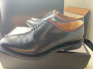 Gucci Leather Lace-Up Oxfords Authentic for Sale in Chino Hills, CA