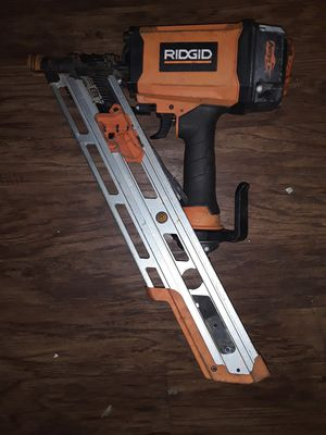 RIDGID NAILGUN for Sale in Euless, TX