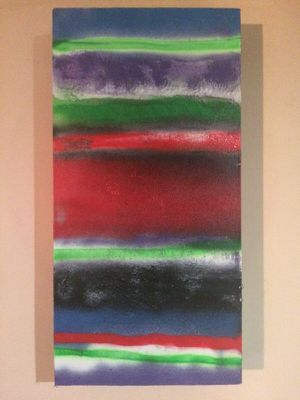 """""""Neon Roads"""" wall art painting by local artist for Sale in Nashville, TN"""