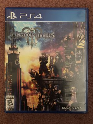 Kingdom Hearts III for PS4 for Sale in Fremont, CA