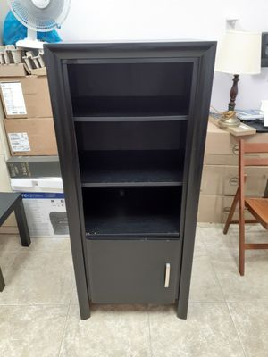 Bookcase with bottom door || Classic Black || Good Condition for Sale in Philadelphia, PA