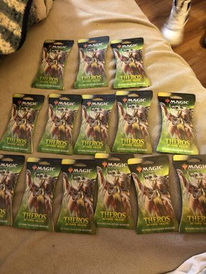 Magic the gathering theros collector booster pack for Sale in San Diego, CA