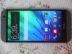 HTC One M8 Phone Verizon/T-Mobile/MetroPCS/AT&T/Cricket Phone New Without Box Clear ESN Gray for Sale in Glendale, AZ
