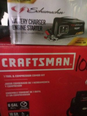 Air compressor.....Dewalt circle saw......battery charger for car for Sale in Renton, WA
