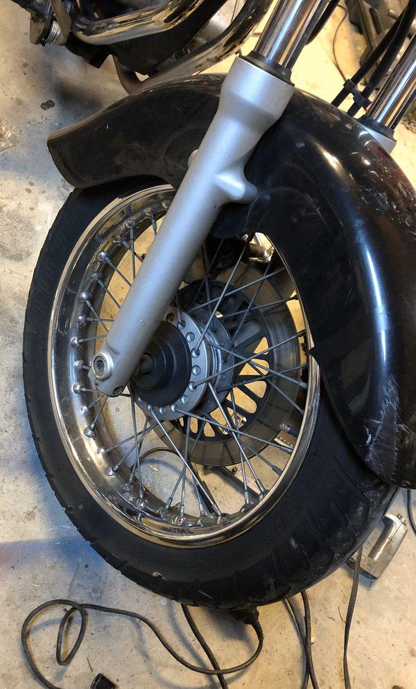 2002 Suzuki Marauder GZ250 motorcycle