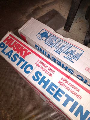 Plastic sheeting for Sale in Springfield, MA
