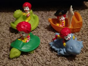 Happy Meal Underage 3 Toy collection for Sale in Hamilton, OH