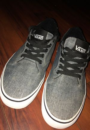 Vans grey shoes for Sale in Livingston, CA