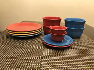 Fiestaware 12 piece set for Sale in Seattle, WA