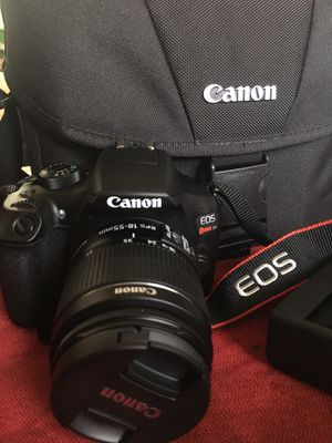 Canon Eos Rebel T6 (1300D) Camera With 2 lenses for Sale in Salt Lake City, UT