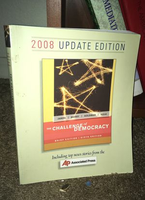 The Challenge of Democracy - 2008 Update Version for Sale in Poway, CA