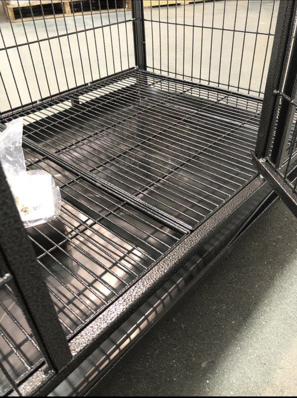 "Dog Pet Cage Kennel Size 37"" Medium New In Box 📦"