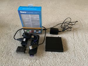 Roku Express + Silicon Dust HD Homerun Connect (2 tuners, OTA Version) for Sale in Glyndon, MD