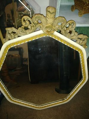 NURRE 1920's antique Victorian mirror for Sale in Ashville, OH