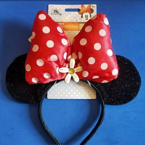 Disney's Minnie Mouse Ears And Headband for Sale in Torrance, CA