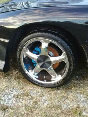 Atrezzo 225/40 ZR18 rims and tires 4x for Sale in Kenbridge, VA