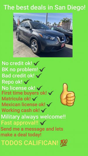 2018 NISSAN KICKS!! ONLy 16K MILES!!! for Sale in San Diego , CA
