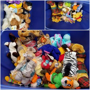 Beanies or small stuffed animals for Sale in Essex, MD