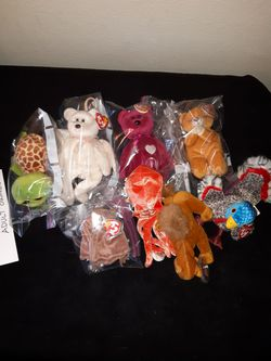 Beanie babies all for Sale in Rancho Cordova,  CA