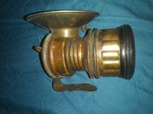 Antique hard hat lantern for Sale in Gilmer, TX