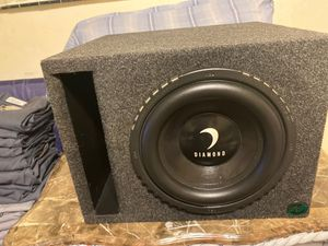 Diamond audio TDX 10' inch subwoofer for Sale in Calhoun, GA
