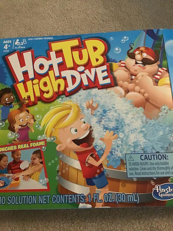 Hot Tub High Dive Game