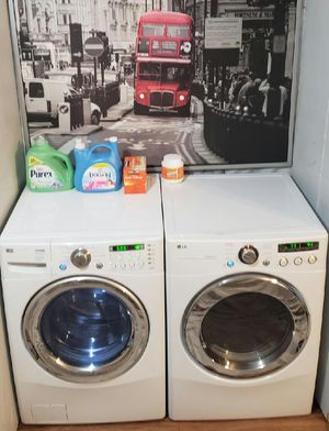 Lg Front Load Washer and Dryer Electric Set for Sale in Mint Hill, NC