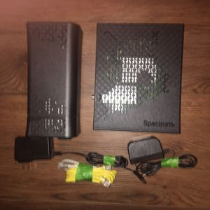 Spectrum Router and Modem with cables and power adapters for Sale in Los Angeles, CA