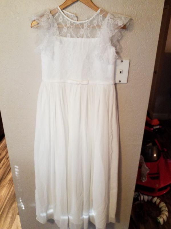 NEW Wedding, baptism, special occasion dress ..size small for a skinny woman