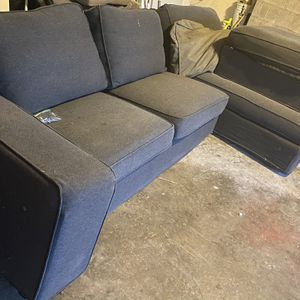 IKEA Kivik Couch With Ottoman for Sale in Federal Way, WA