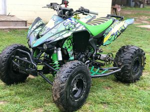 Kfx 450r fuel injected runs good this atv whit reverse for Sale in North Chesterfield, VA